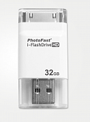 Флешка PhotoFast i-FlashDrive HD 32GB с разъемом 30-pin (iPhone 4/4S/3GS)
